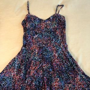 Beautiful galaxy/floral dress